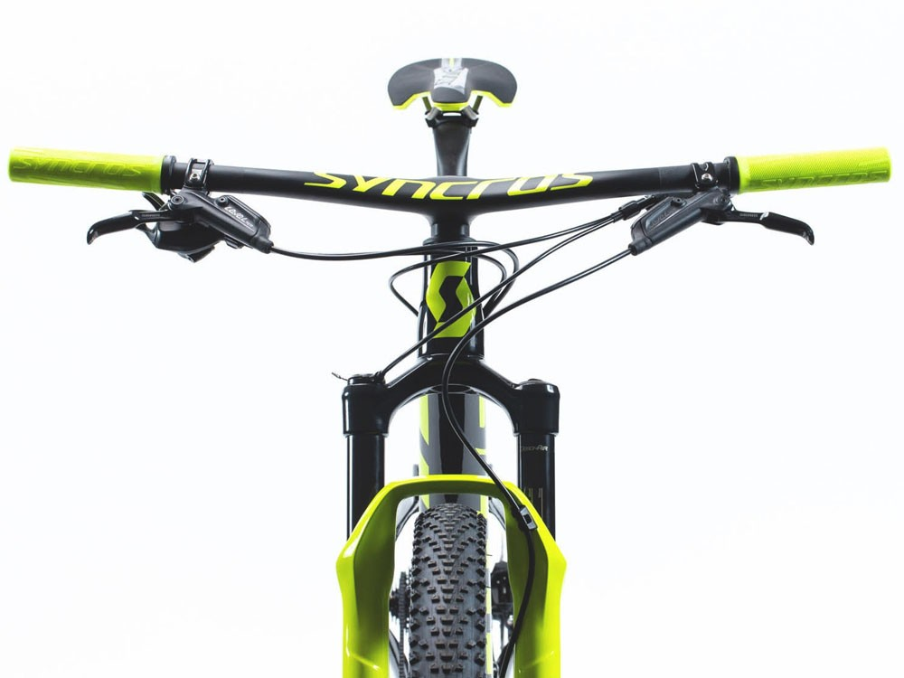 Scott Spark RC 900 World Cup Mountainbike Fullsuspension 29er (schwarz / gelb)