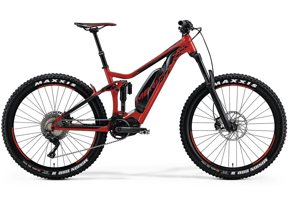 Merida EONE Sixty 900 EP1 (500Wh) Mountainbike Fullsuspension E-Bike (rot / schwarz)
