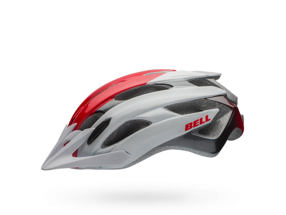 Bell: EVENT XC white/red superficial Helm