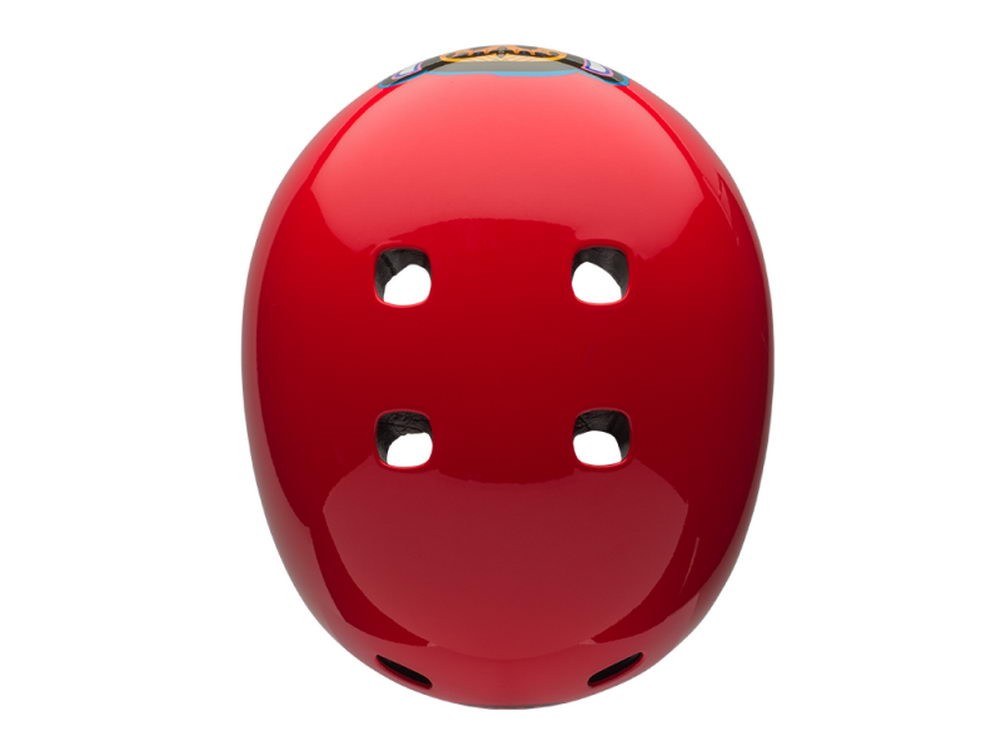 Bell: SEGMENT JR Red Paul Frank Graffiti Helm