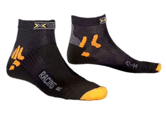 X-SOCKS Bike Racing Kurze Radsocken (schwarz)