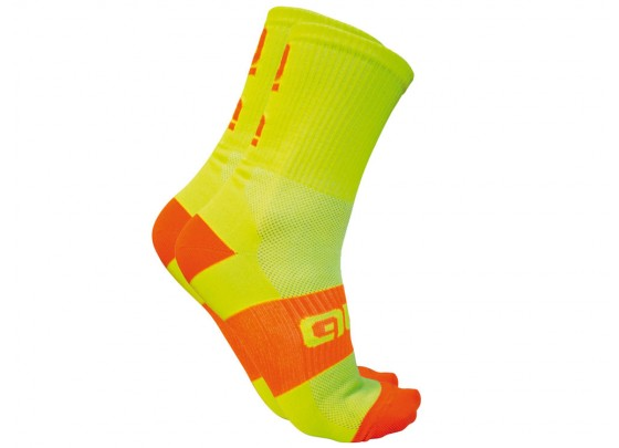 Alé Summer Air Light Radsocken (gelb / neon / orange)