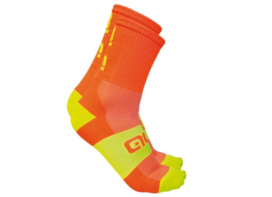 Alé Summer Air Light Radsocken (orange / neon / gelb)