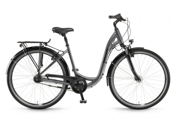 Winora Holiday N7 Wave City Bicycle (grey)