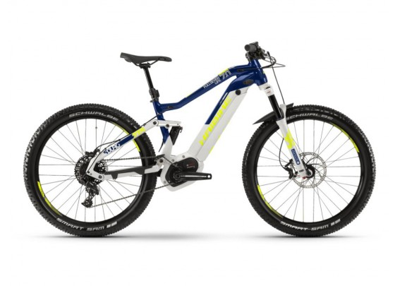 Haibike SDURO FullSeven 9.0 (i500Wh) Fullsuspension E-Bike (black / blue / yellow)