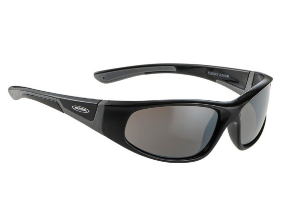 Alpina Flexxy Junior Ceramic S3 Sonnenbrille Kinder (schwarz / grau)