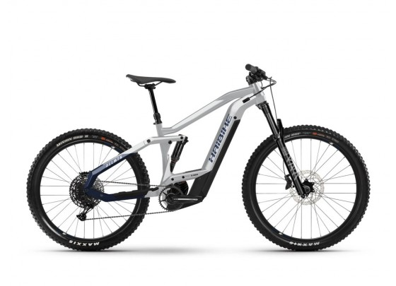 "Haibike AllMtn 3 (625 Wh) Fullsuspension E-Bike 29"" (weiß / blau)"