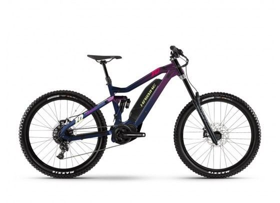"Haibike Dwnhll (500 Wh) Fullsuspension E-Bike 27.5"" (blau)"