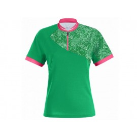 Vaude: Women´s  Ican Shirt meadow - Radtrikot