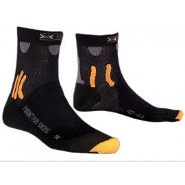 X-SOCKS Mountain Biking Kurze Radsocken (schwarz)