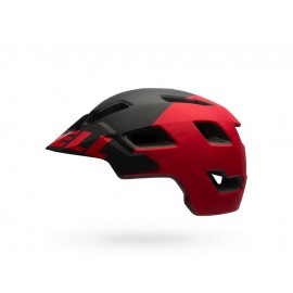 Bell: STOKER matt black/red aggression Helm