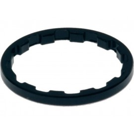 "Procraft: Spacer Superlight 1 1/8"" 3 mm schwarz Distanzring 1 Stück"