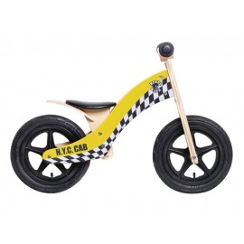 "Rebel Kidz Wood Air Taxi 12"" Laufrad Kinder (gelb)"