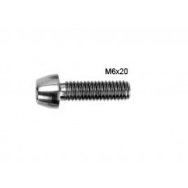Syntace: Titanium Bolts / M6x20 mm / 1 piece