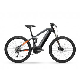 "Haibike FullSeven 4 (500 Wh) Fullsuspension E-Bike 27.5"" (rot / grau)"