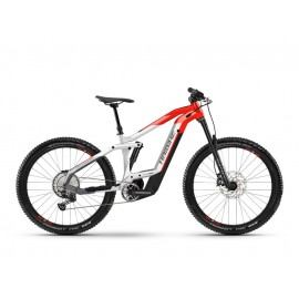 "Haibike FullSeven 9 (625 Wh) Fullsuspension E-Bike 27.5"" (rot / grau)"