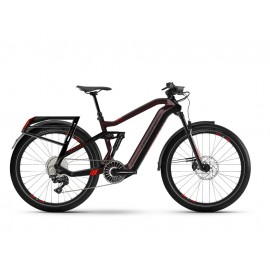 "Haibike XDURO Adventr (630 Wh) Fullsuspension E-Bike 27.5"" (schwarz / dunkelbraun)"
