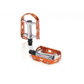 XLC: PD-M15 Ultralight V Pedal silber-orange